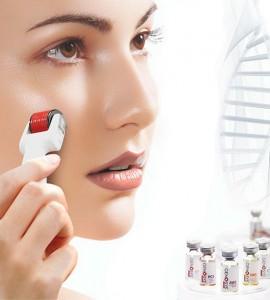 Микроиглен масаж на лице
