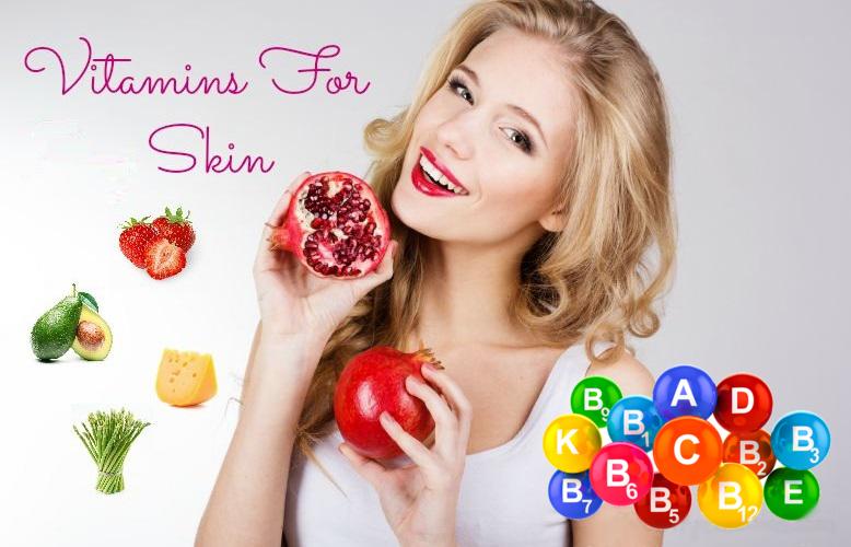 Най-добрите витамини за кожата на лицето ни